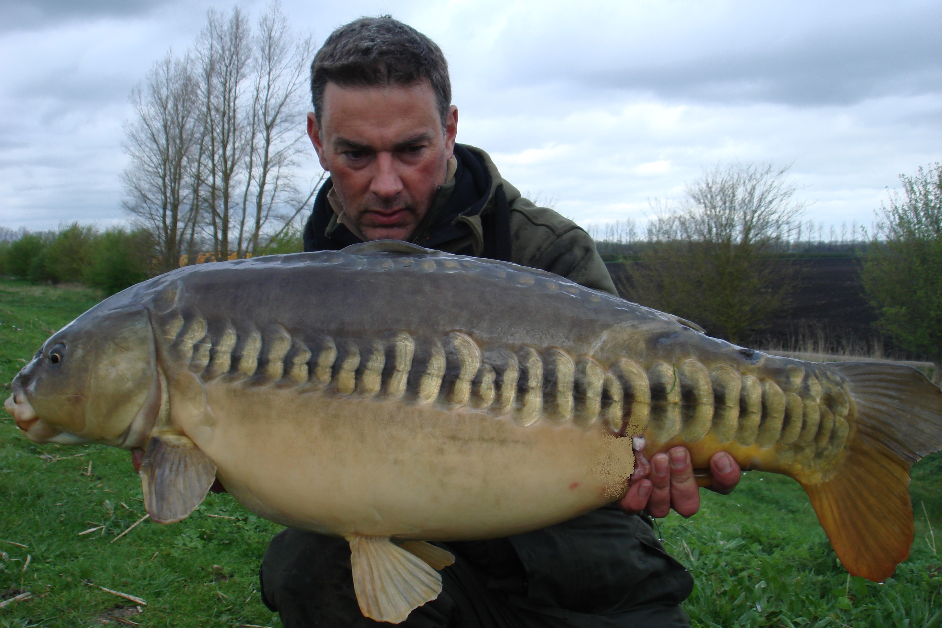 Nice 25-12 linear - smallest of the session.