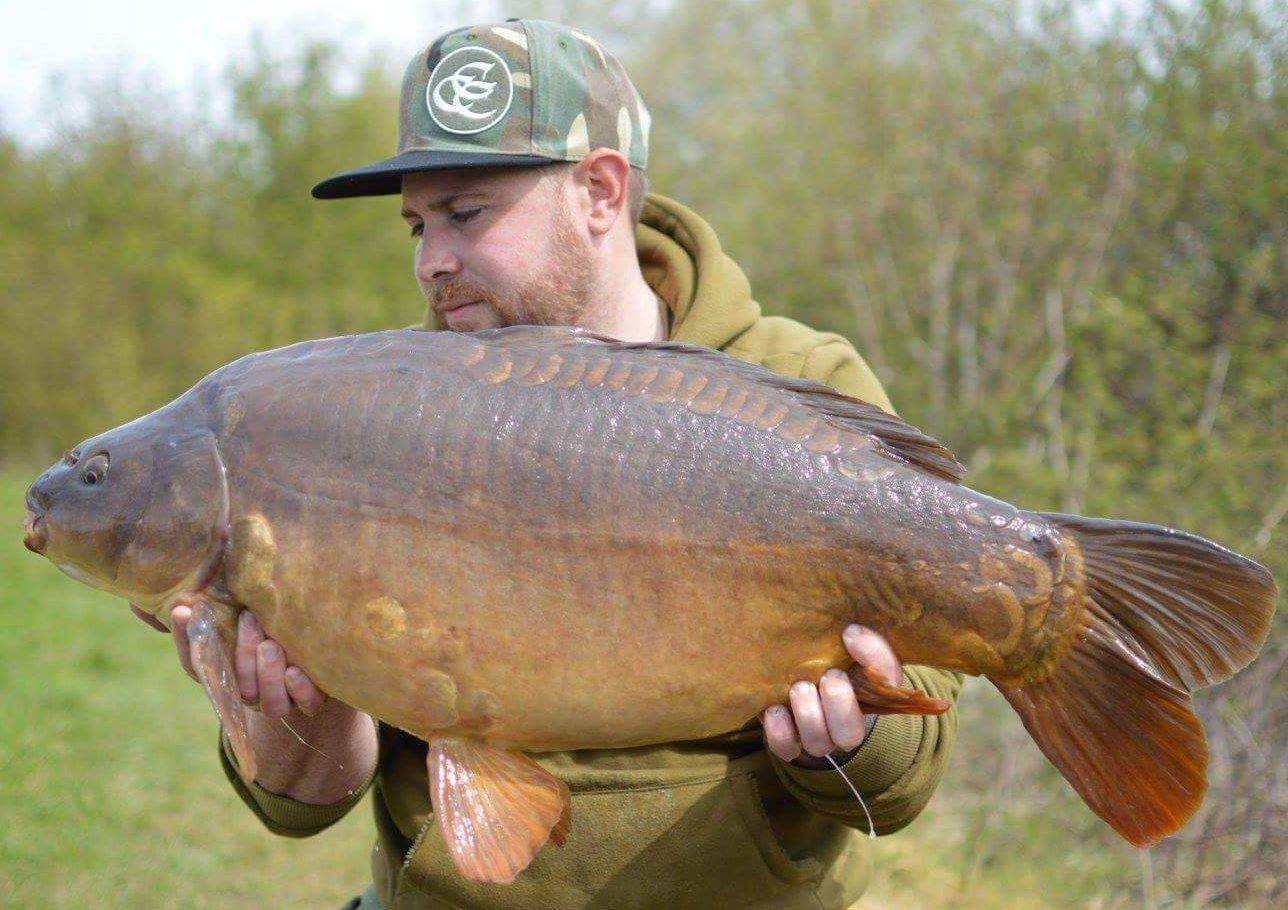 Adam Kitchen has caught plenty recently including this nice 30-04