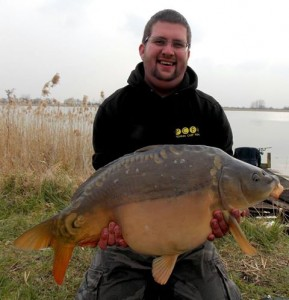 dan with an end of winter fish 20+